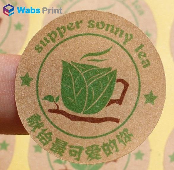 eco-friendly sticker